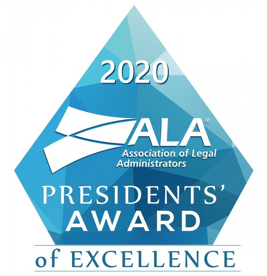 2020 Presidents Award of Excellence